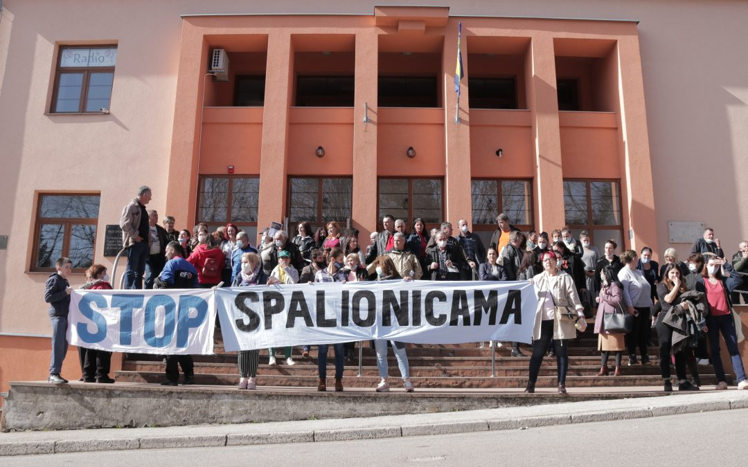 Round table on the waste incinerator canceled in Bosanski Petrovac (BiH) due to the protest of the local people