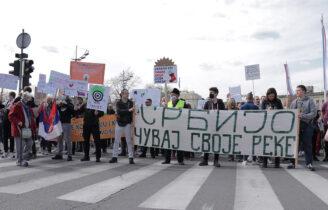 Eco protest in Belgrade!