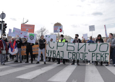 Eco protest in Belgrade!